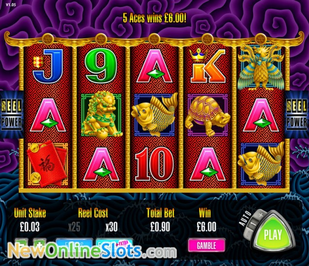 Dolphin Treasure Slot Machine Developed By Aristocrat Gaming