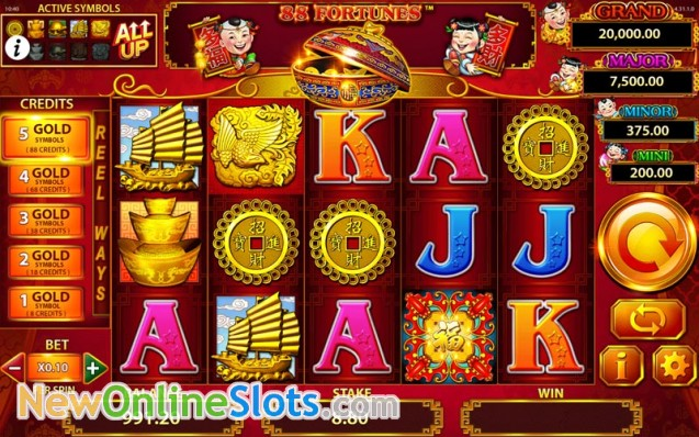 88 Fortunes Slot - Play Shuffle Master Slots Online for Free
