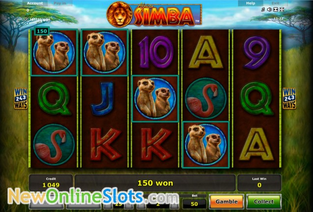 Play African Simba Slot Game Online | OVO Casino