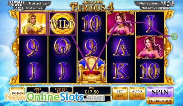 Play Age of the Gods: Furious Four at Casino.com ZA