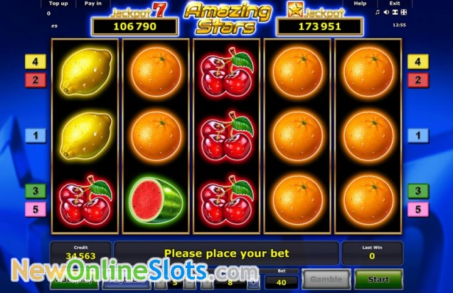Play Amazing Stars Slot Game Online | OVO Casino