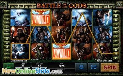 Battle of the Gods slot by Playtech image #1