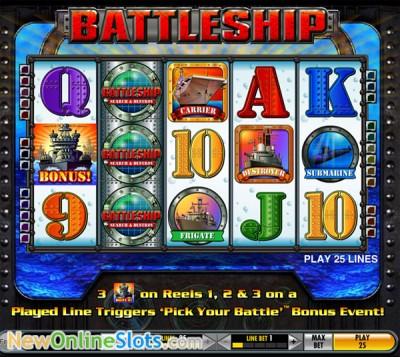 Battleship: Search & Destroy slot by IGT image #1