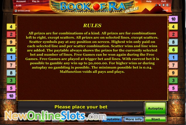 cleopatra slots book of ra