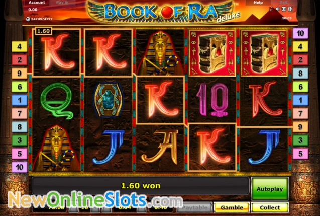 new online casino online book of ra