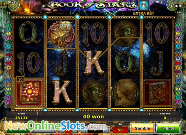 Play Book of Stars Slot Game Online | OVO Casino