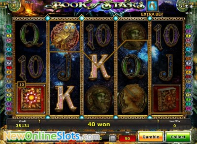 Book of Stars slot by Novomatic image #1