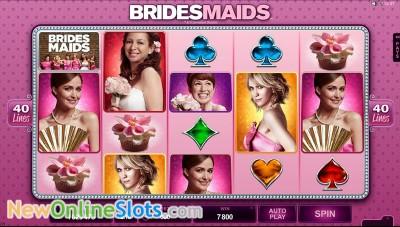 Bridesmaids slot by Microgaming image #1