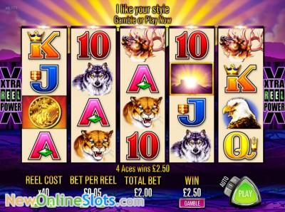 aristocrat buffalo penny slots free play