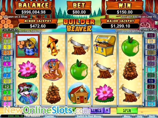 Builder Beaver Slot Machine Online ᐈ RTG™ Casino Slots