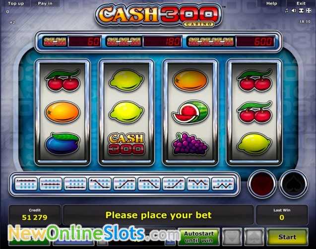 Play Hot & Cash Slot Game Online | OVO Casino