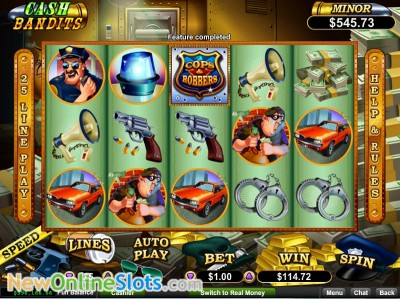 Cash Bandits slot by RTG image #1
