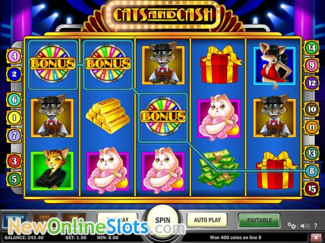 Cats and Cash Online Slot Play N Go - Rizk Online Casino Sverige