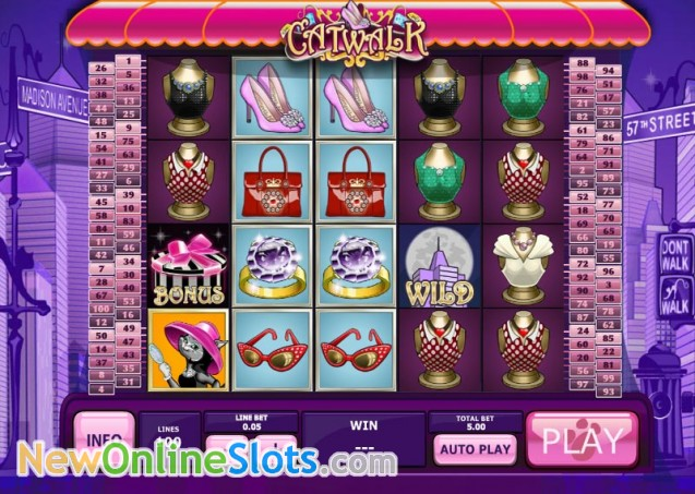 Play Catwalk Online Slot at Casino.com South Africa