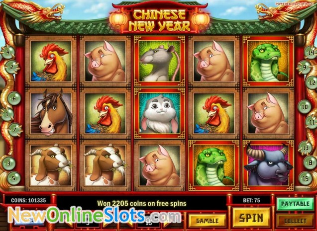 Chinese New Year Online Slot Play N Go - Rizk Online Casino Sverige