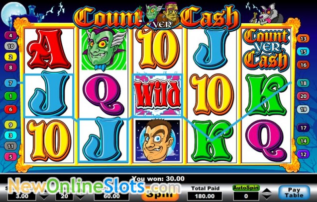 Count Yer Cash Slot - Play for Free Online