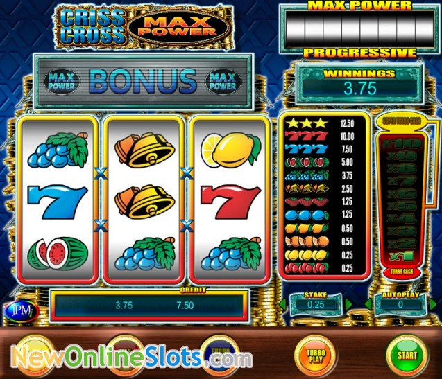 Criss Cross Slots - Free Online Casino Game by JPM