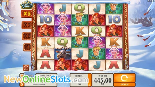 Crystal Queen Slot Machine Online ᐈ Quickspin™ Casino Slots