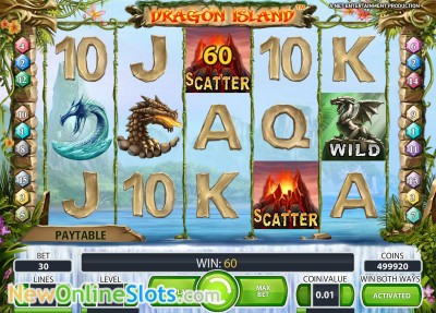 free online slot games dragon island