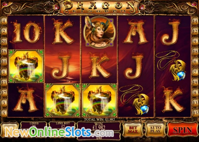 Play Dragon Kingdom Online Slots at Casino.com UK