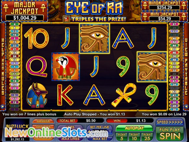 golden casino online bool of ra
