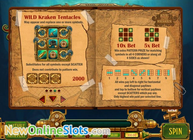 Eye of the Kraken Online Slot - Play N Go - Rizk Online Casino Sverige
