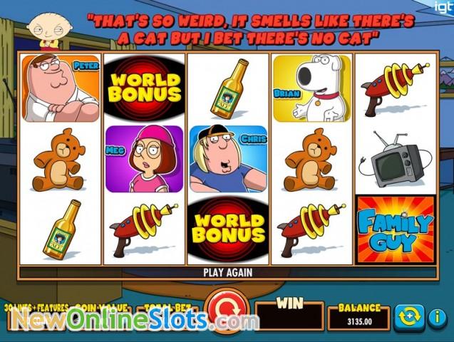 Family Guy Online Slot - Rizk Online Casino Sverige