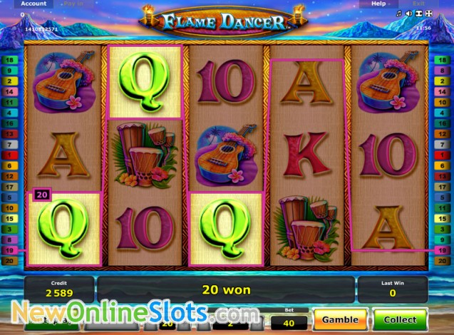 Flame Dancer Slot Machine Online ᐈ Novomatic™ Casino Slots