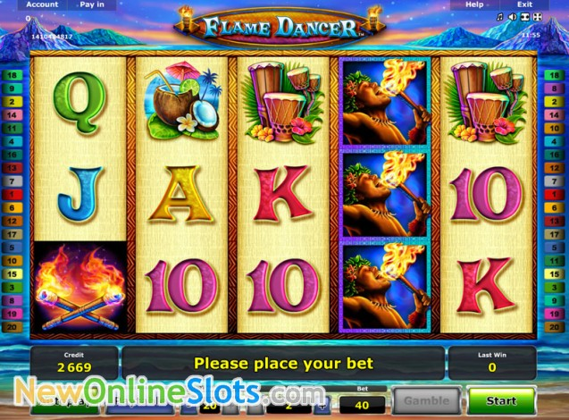 Play Flaming Hot Slot Game Online | OVO Casino