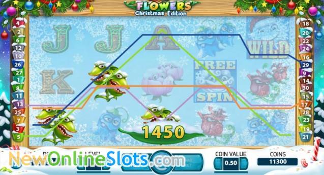 Flowers Christmas - Rizk Casino