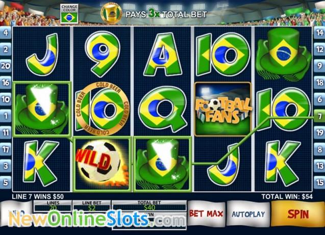 Play Football Fans Slots Online at Casino.com NZ