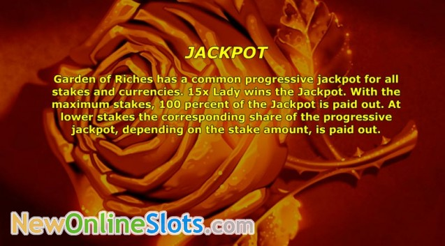 Play Garden of Riches for free Online   OVO Casino