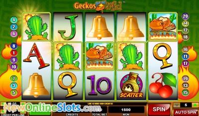 Geckos Gone Wild slot by Amaya image #1