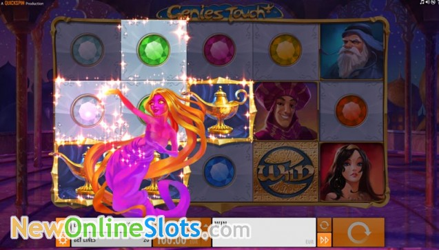 Genies Touch Online Slot - QuickSpin Slots - Rizk Online Casino Sverige
