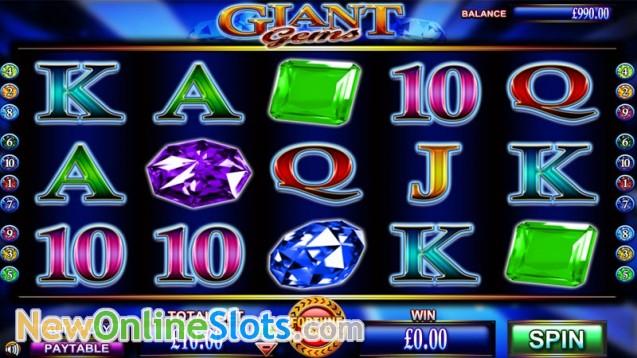 Giant Gems Slots - Free Online Casino Game by NextGen