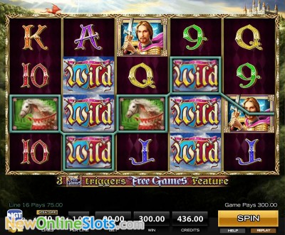 Golden Knight slot by High 5 Games image #1