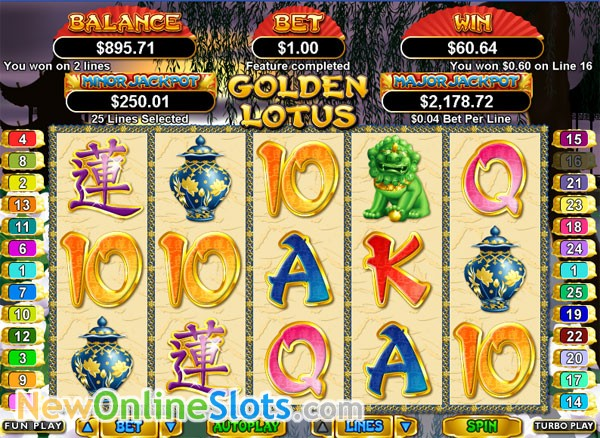 Slots golden lotus