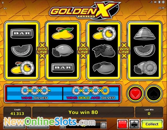 Play Golden X Casino Slot Game Online | OVO Casino