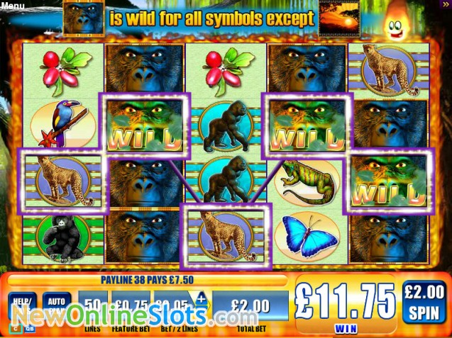 Gorilla Chief 2 Slot Machine Online ᐈ WMS™ Casino Slots