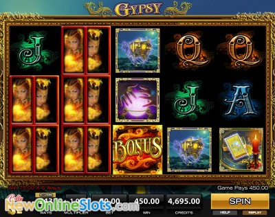 Gypsy slot by High 5 Games image #1