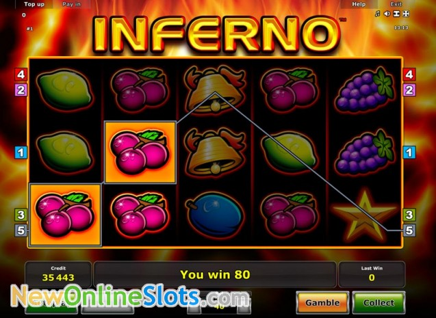 Play Inferno Slot Game Online | OVO Casino