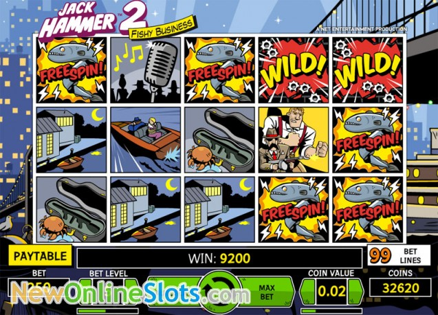Play Jack Hammer 2 Slots at Casino.com New Zealand