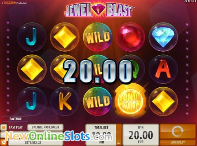 Jewel Blast Online Slot - QuickSpin Slots - Rizk Online Casino Sverige