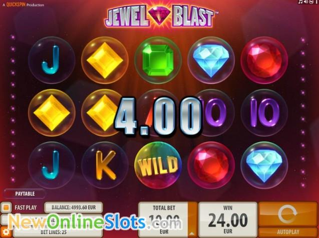 Jewel Blast Slot - QuickSpin - Rizk Online Casino Deutschland