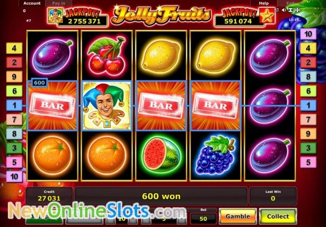Play Lucky Jolly Slot Game Online | OVO Casino