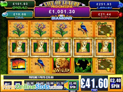 Jungle Cats slot by WMS image #1