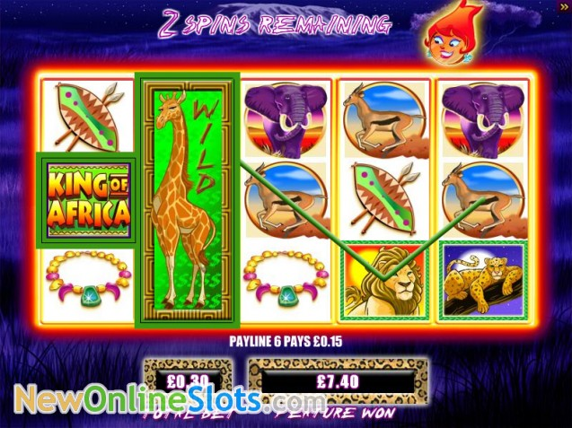 Play King of Africa Slot - Get Wild Riches | PlayOJO