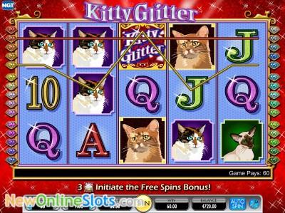 Glitter bingo slots