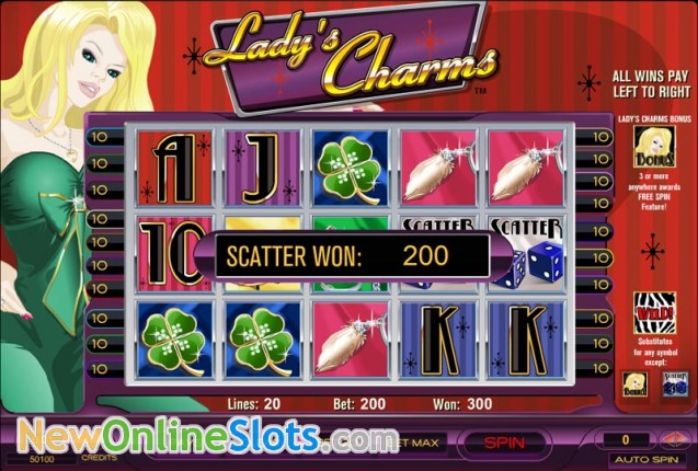 online casino slots lacky lady