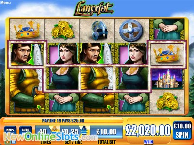 Lancelot slot by WMS image #1
